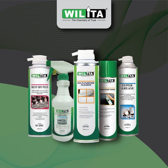 Wilita Household Maintenance Lubricants