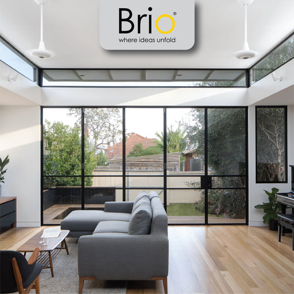 BRIO for Interior and Exterior Bifold and Screen Tracks, Hardware, Sets and Systems for Sliding and Folding Doors