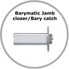 Euroart Barymatic Jamb Door Closer/Bary Catch