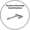 Euroart Surface Mounted Door Coordinators