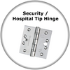 Euroart  Security / Hospital Tip Hinge