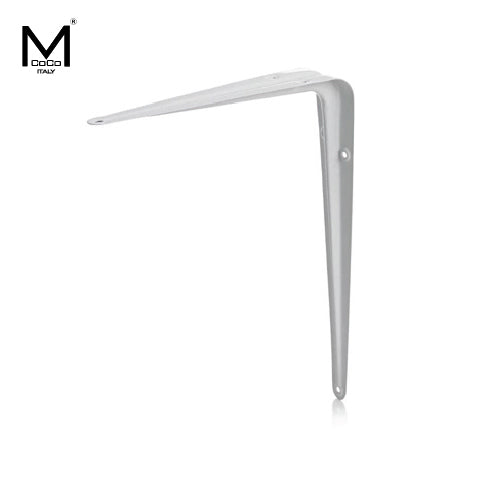 EQUILATERAL SHELF BRACKET WHITE - 3E 211