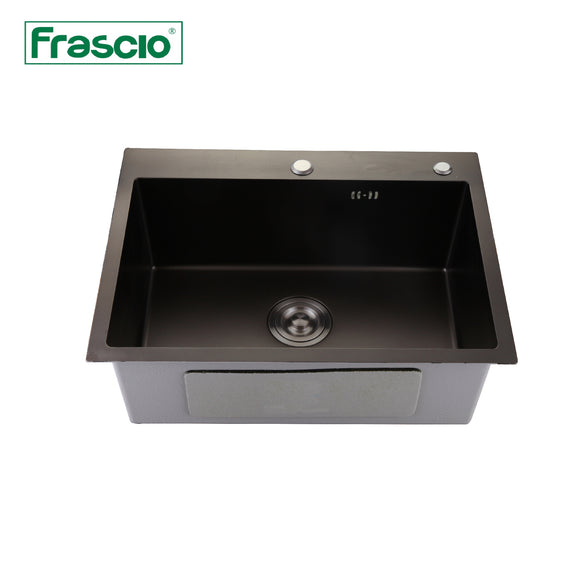 HANDMADE SINGLE BOWL SINK - FRA 4055545BK