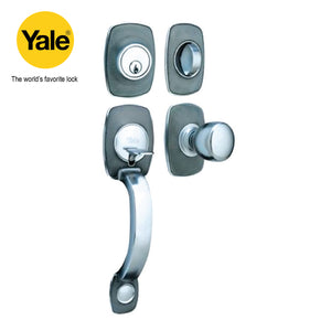 SILVER MAIN DOOR HANDLE - Y 6688