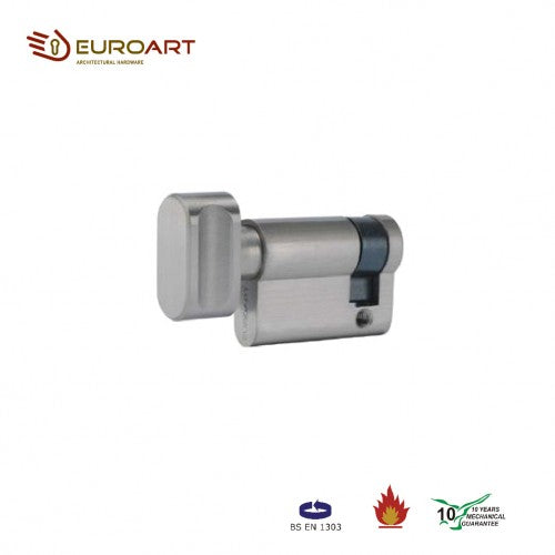EURO SINGLE THUMBTURN CYLINDER - CYD 545