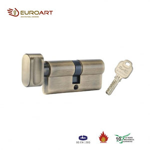 KEY AND TURN CYLINDER - CYS 370 SN