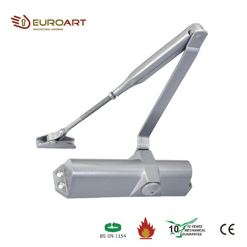 STANDARD ARM CLOSER - DC 1024 SIL