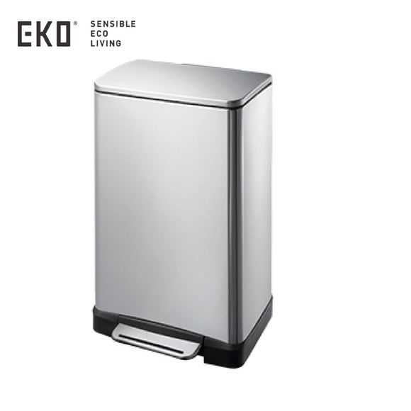 EKO RECTANGULAR SS STEP BIN - EK9268MT