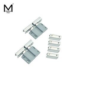 DOUBLE DOOR GLASS HINGE - GD 711 SS