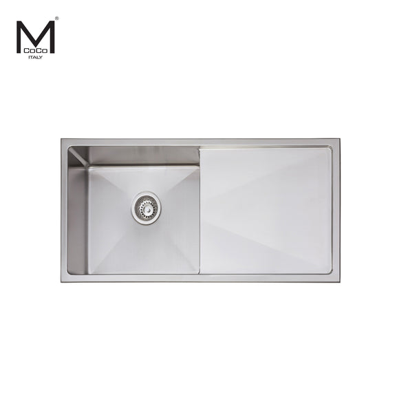 SINGLE BOWL SINK WITH DRAIN - HG 904006/HG 904012