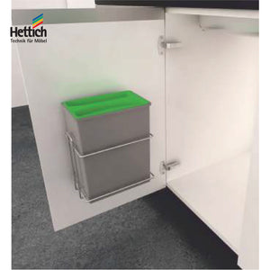 SQUARE BIN HOLDER WITH 8 LITRES BIN - HT 926998400