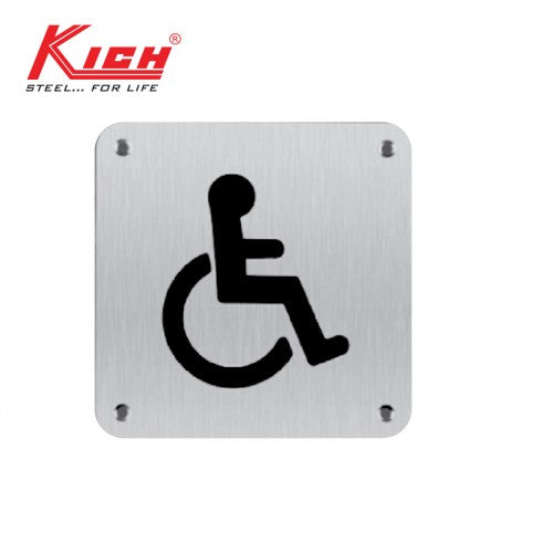 SIGN PLATE DISABLE - K KLS B7 DS SS