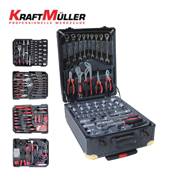 KraftMuller Hand Tools 326 Pieces Set - KM-326PCS