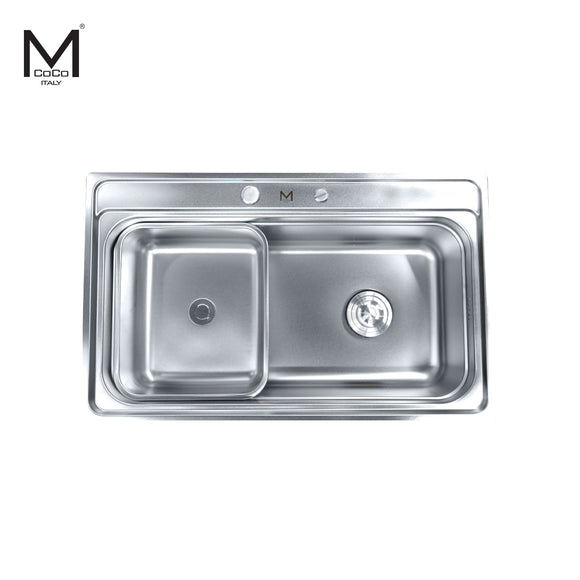 SS FINISH SINGLE BOWL SINK - LAN 666B SS