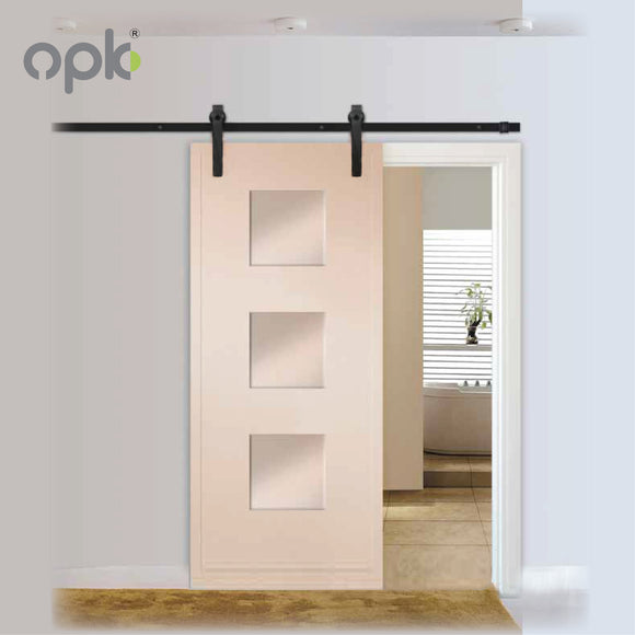 OPK BARN SLIDING DOOR WITH SOFT OPENING AND CLOSING - CJ12233B+XZA003