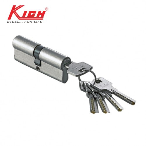 PIN CYLINDER (BOTH SIDE KEY) 60MM - K PC11KK 60 DSK SS