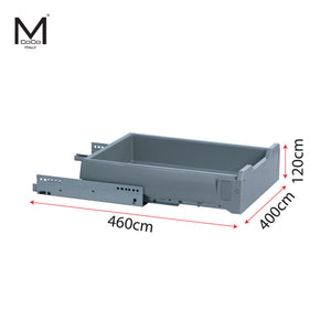 PLASTIC DRAWER SET - PD.4545M.7002