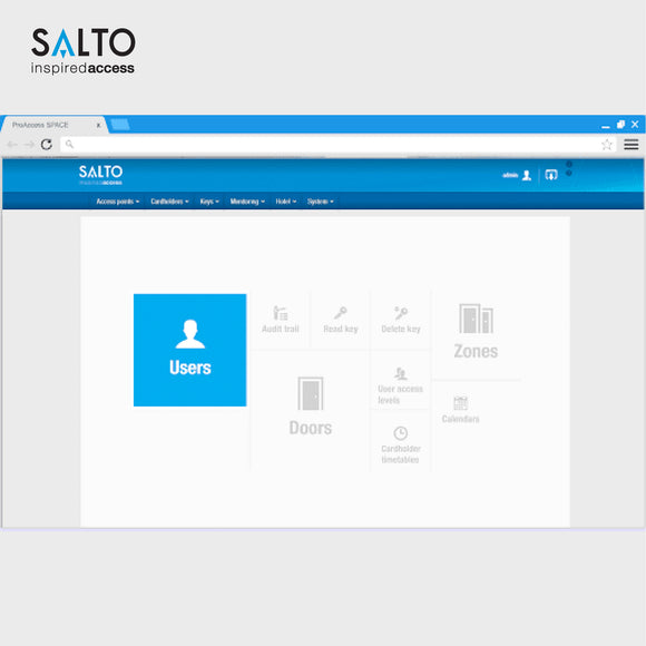 Salto access control Sri Lanka - ProAccess SPACE Management Software