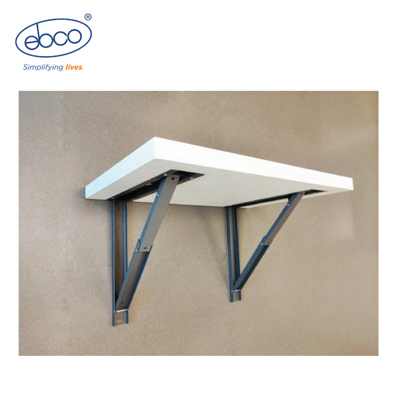 FOLDABLE RECESSED TABLE BRACKET - TBR 30.300 W