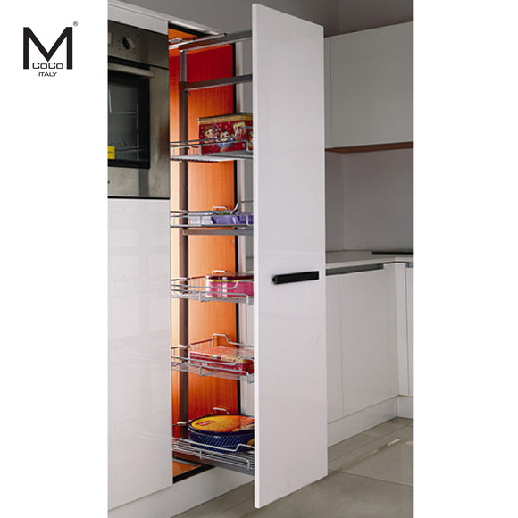 CHROME PLATED LARDER PULLOUT - TDM 405