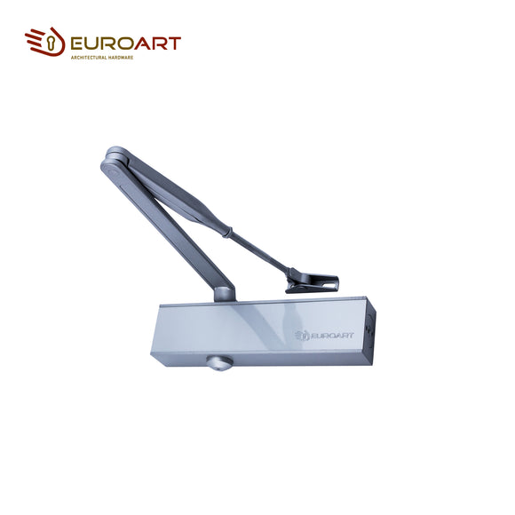 Euroart Concealed Door Closer 120° Opening Angle for 44m Door Shutter Thickness - DC 7003 SIL