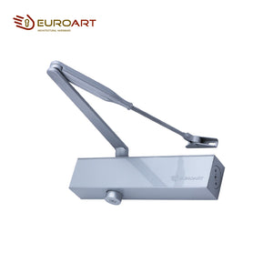 OVERHEAD DOOR CLOSER WITH BACKCHECK - DC 6026 BC.SIL