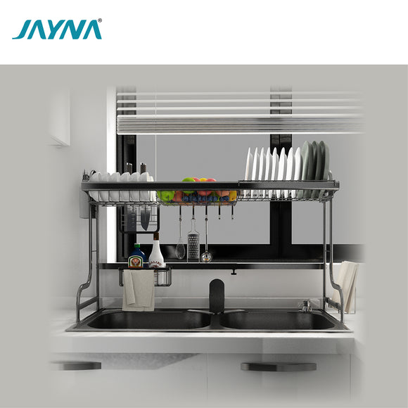 JAYNA TABLE TOP GENERAL PULLOUT DISH DRYING RACK - G 30403-1