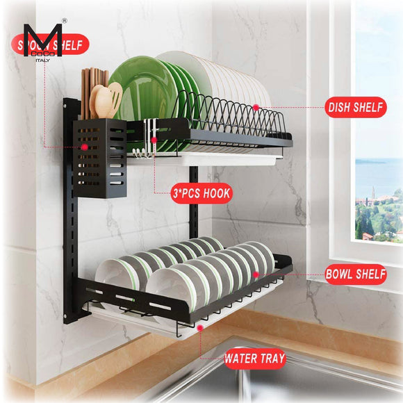 2 SHELVES DISH RACK - DR 02SH S11