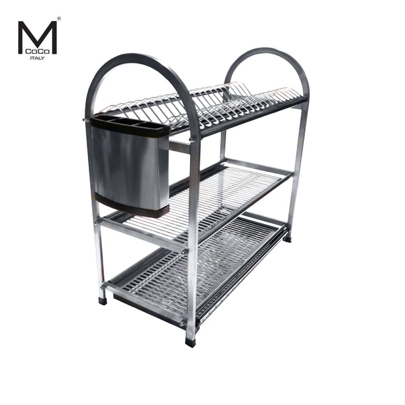 DISH RACK WITH CUTLERY - WDJ 680