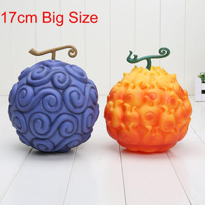 One Piece - Action Figure Gomu Gomu no mi/Mera Mera no mi 17cm