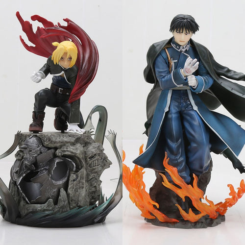 Full Metal Alchemist - Action Figure Edward Elric & Roy Mustang 16-22cm