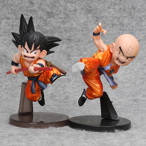Dragon Ball Z - Action Figure Goku e Kuririn 13 cm