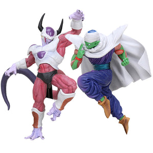 Dragon Ball Z - Action Figure Freeza e Piccolo 22cm/18cm