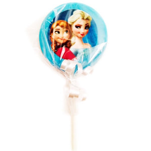 Frozen Princesses Chocolate Lollipops
