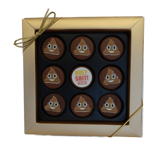 Emoji Birthday- S**T I'm getting order Mini Chocolate Covered Oreos Gift Box