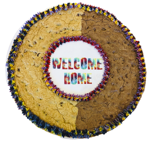 Welcome Home Brookie Cookie Cake