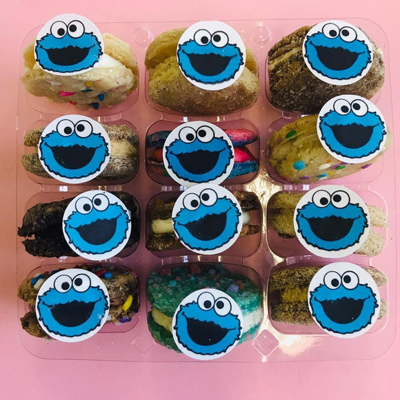 Cookie Monster Cookie Sandwich Assortment - Sesame Street