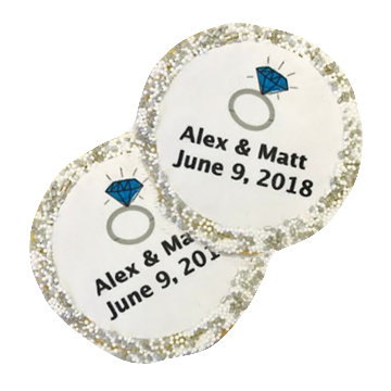 Custom Wedding Occasion Cookies