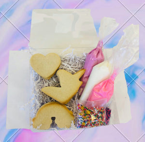 Peace, Love, and Unicorns Make Your Own Cookies Kits - nut free