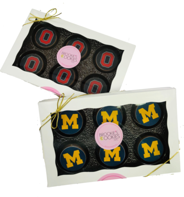 Custom College Mascot Chocolate Covered Oreos Gift Box