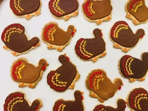 Thanksgiving Turkey Cookies