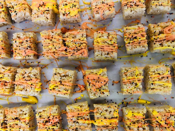 Autumn Rice Krispy Treats