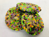Chocolate Chip Cookies with Halloween Sprinkles