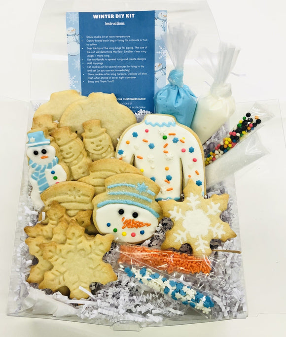 Winter Cookie Decorating Kit