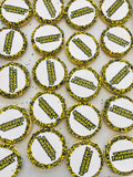 Custom Logo Cookies - Round With Nonpareils