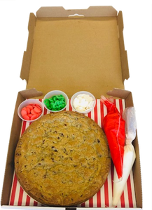 Make Your Own Cookie Pizza Box Kit - Nut Free