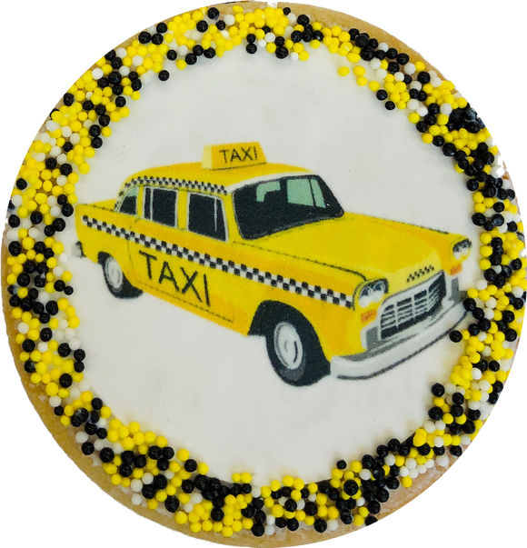 Taxi Cab Sugar Cookies