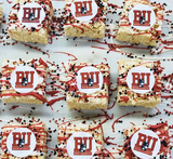 College Logo Mini Rice Krispy Treats