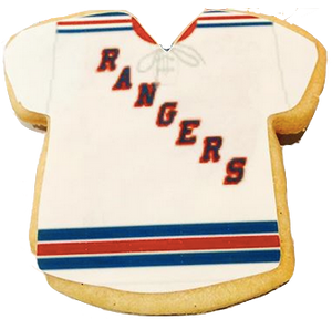 Sports Team Jersey Sugar Cookies