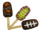 Football Cakesicles - Super Bowl, Party Favors